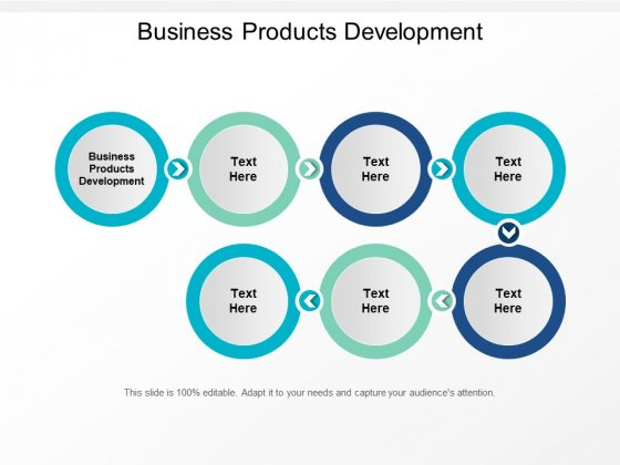 Business Products Development Ppt PowerPoint Presentation Portfolio Ideas Cpb