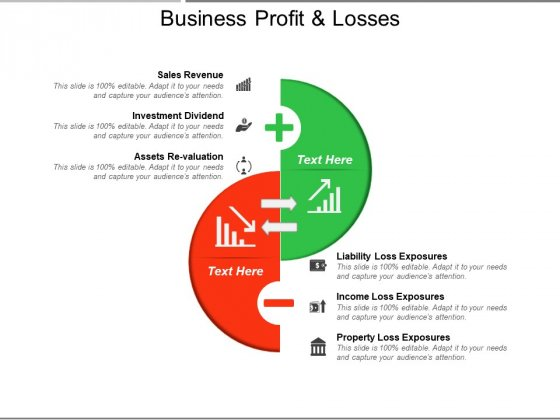 Business Profit And Losses Ppt PowerPoint Presentation Summary Outline