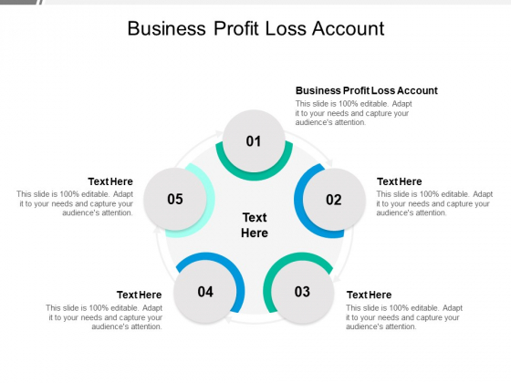 Business Profit Loss Account Ppt PowerPoint Presentation Gallery Elements Cpb