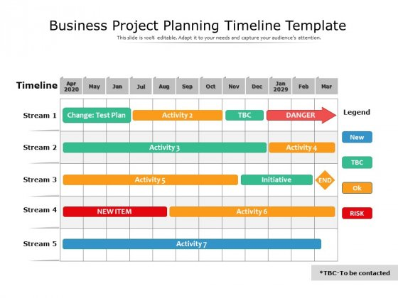 Business Project Planning Timeline Template Ppt PowerPoint Presentation Professional Graphics Example PDF