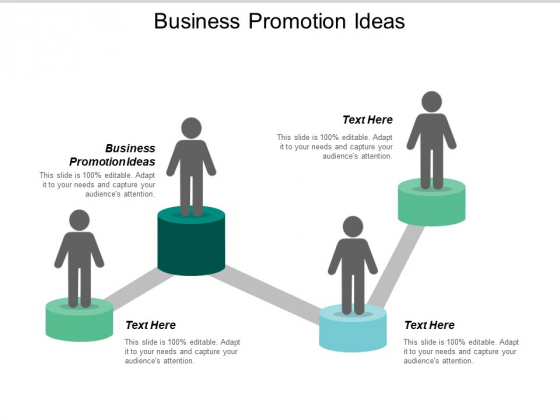 Business Promotion Ideas Ppt PowerPoint Presentation Icon Infographic Template Cpb