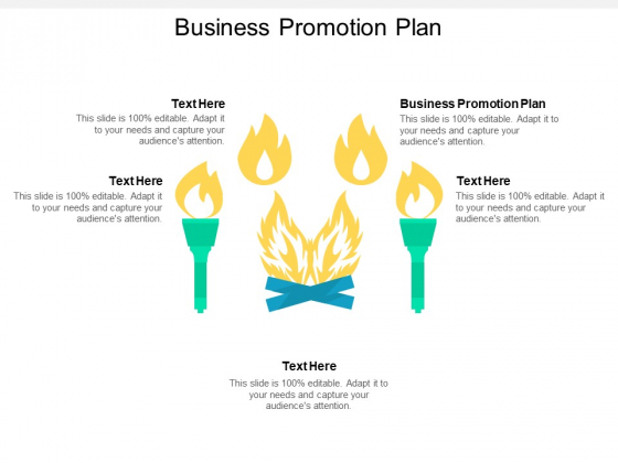 Business Promotion Plan Ppt PowerPoint Presentation Model Influencers