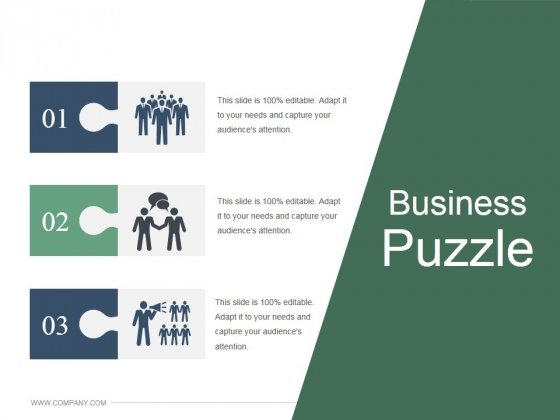 Business Puzzle Ppt PowerPoint Presentation Clipart