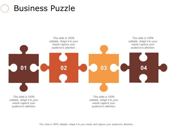 Business Puzzle Ppt PowerPoint Presentation Model Example Topics