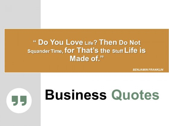 Business Quotes Ppt PowerPoint Presentation Pictures Graphics Design