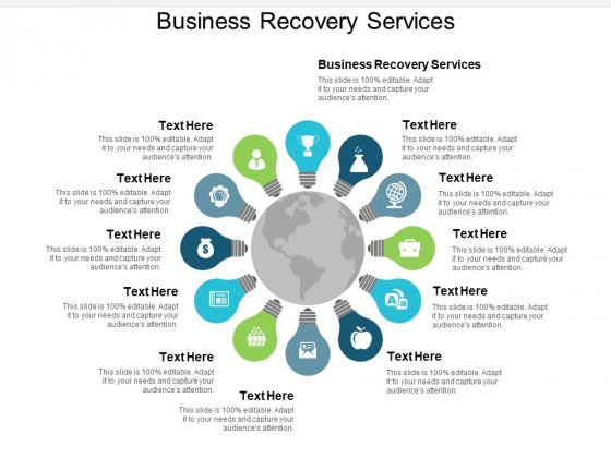 Business Recovery Services Ppt PowerPoint Presentation Pictures Microsoft Cpb