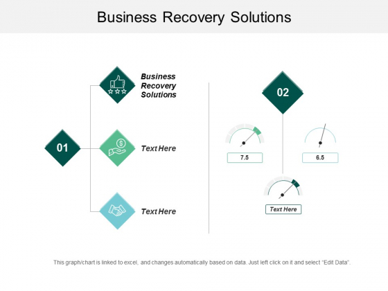 Business Recovery Solutions Ppt Powerpoint Presentation Pictures Format Ideas Cpb