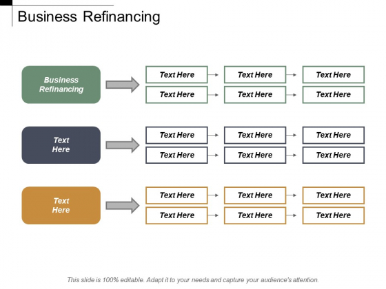 Business Refinancing Ppt PowerPoint Presentation Show Professional Cpb