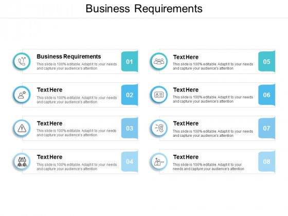 Business Requirements Ppt PowerPoint Presentation Styles Design Templates Cpb
