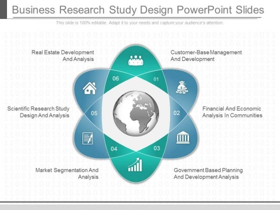 Business Research Study Design Powerpoint Slides