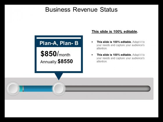 Business Revenue Status Ppt PowerPoint Presentation Portfolio Background Image