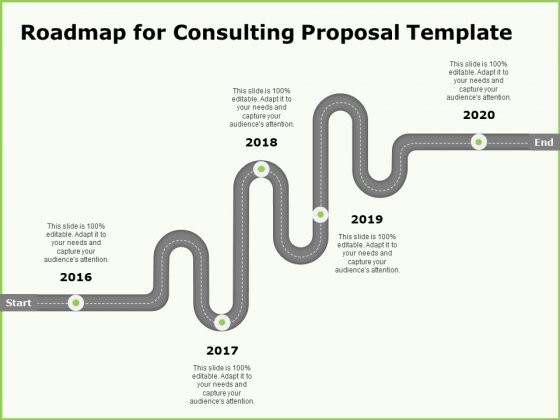 Business Roadmap For Consulting Proposal Template Ppt Infographics Layouts PDF