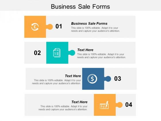 Business Sale Forms Ppt PowerPoint Presentation Model Show Cpb