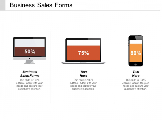 Business Sales Forms Ppt PowerPoint Presentation Gallery Clipart Cpb