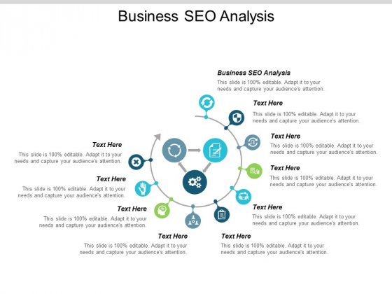 Business Seo Analysis Ppt PowerPoint Presentation Ideas Example Introduction Cpb