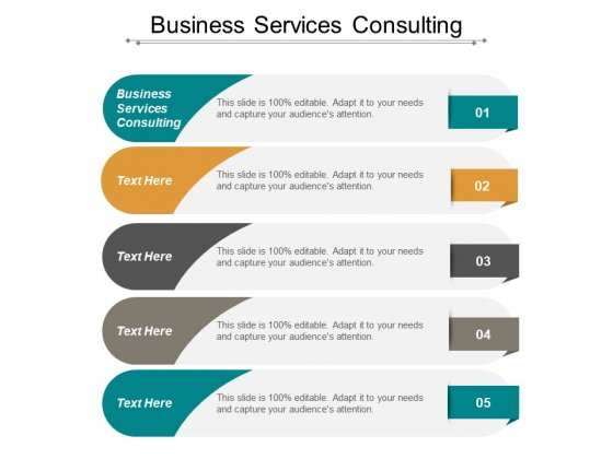 Business Services Consulting Ppt PowerPoint Presentation