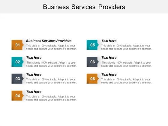 Business Services Providers Ppt PowerPoint Presentation Portfolio Slides Cpb