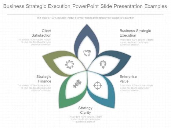 business strategic execution powepoint slide presentation examples