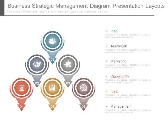 Business Strategic Management Diagram Presentation Layouts