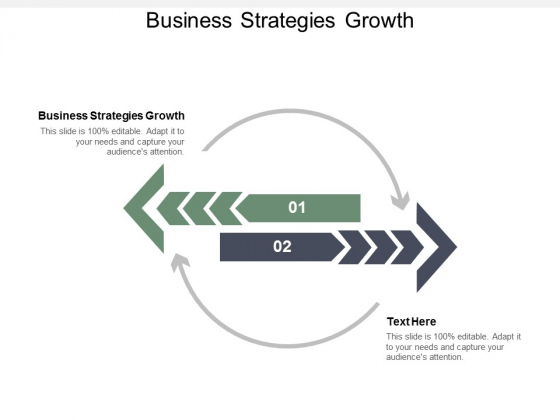 Business Strategies Growth Ppt PowerPoint Presentation Outline Portfolio Cpb