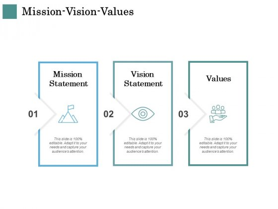 Business Strategies Mission Vision Values Ppt Infographics Infographic Template PDF