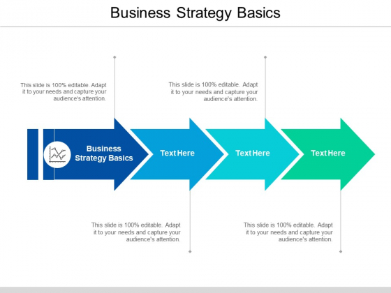 Business Strategy Basics Ppt PowerPoint Presentation Infographics Example Topics Cpb