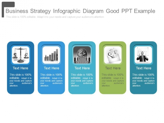 Business Strategy Infographic Diagram Good Ppt Example