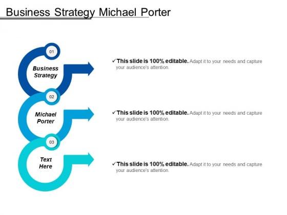 Business Strategy Michael Porter Ppt PowerPoint Presentation Summary Slide