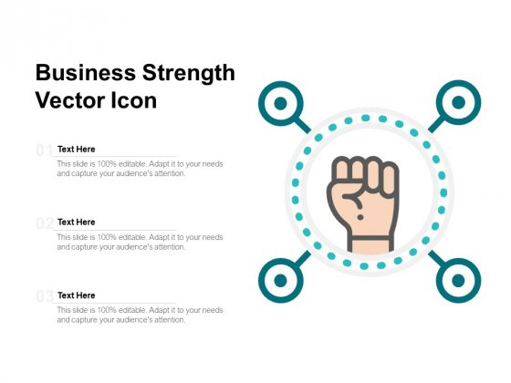 Business Strength Vector Icon Ppt PowerPoint Presentation Styles File Formats