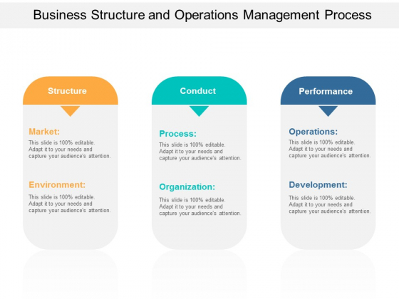 Business Structure And Operations Management Process Ppt Powerpoint Presentation Layouts Example Introduction