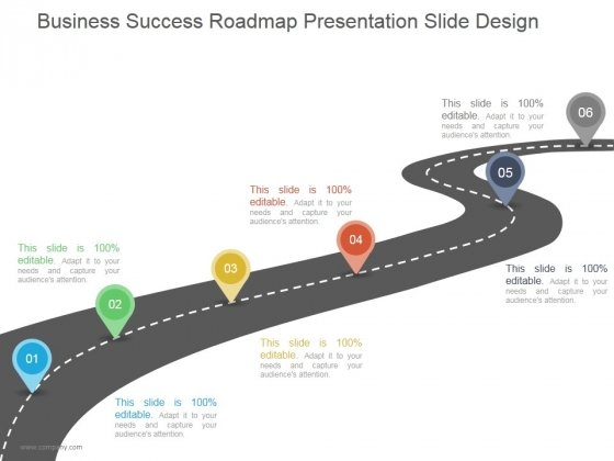 Business Success Roadmap Ppt PowerPoint Presentation Introduction