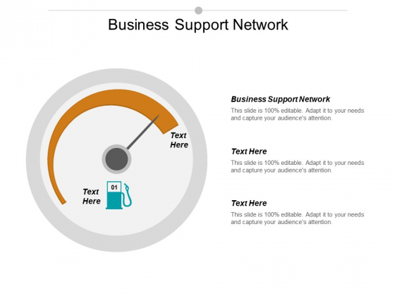 Business Support Network Ppt PowerPoint Presentation Slides Visual Aids Cpb