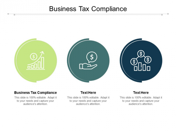Business Tax Compliance Ppt PowerPoint Presentation Pictures Visual Aids Cpb Pdf