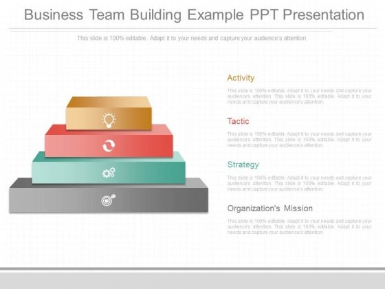 Business Team Building Example Ppt Presentation
