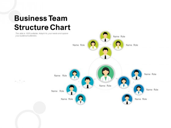 Business Team Structure Chart Ppt PowerPoint Presentation Slides Graphics Download