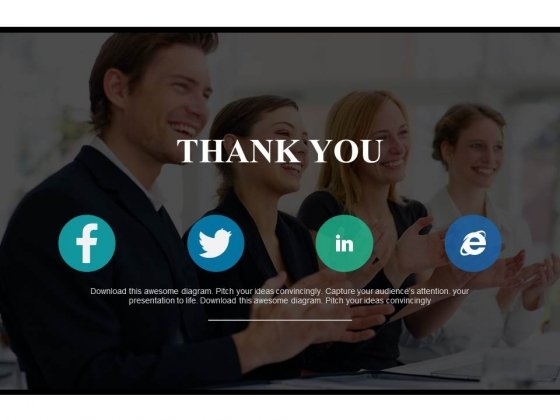 Business Team Thank You Powerpoint Slides
