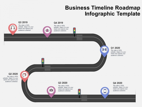Business Timeline Roadmap Infographic Template Ppt PowerPoint Presentation Slides Layout Ideas PDF