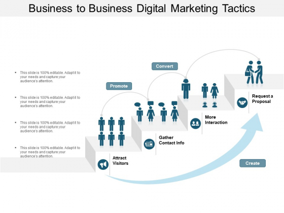 Business To Business Digital Marketing Tactics Ppt PowerPoint Presentation Outline Introduction