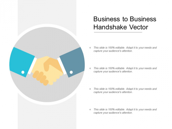 Business To Business Handshake Vector Ppt PowerPoint Presentation Infographic Template Shapes