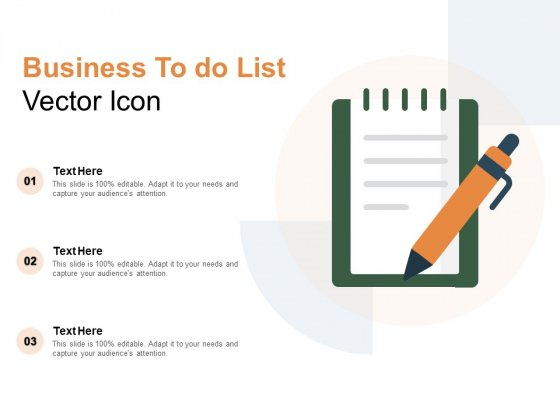 Business To Do List Vector Icon Ppt PowerPoint Presentation Model Guidelines
