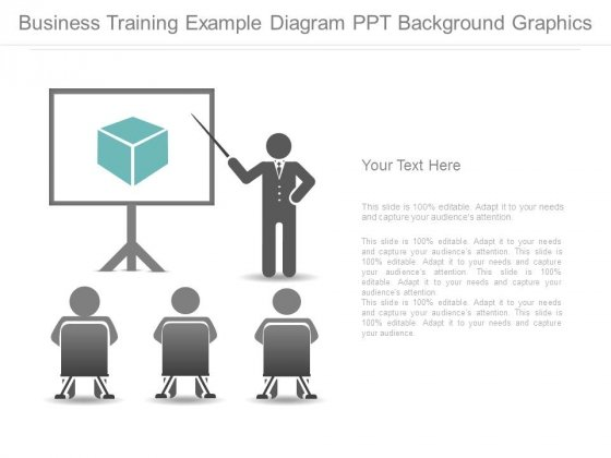 Business Training Example Diagram Ppt Background Graphics