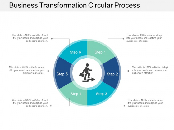 Business Transformation Circular Process Ppt Powerpoint Presentation Styles Introduction