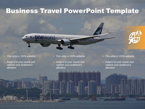 Business Travel Free PowerPoint Diagram