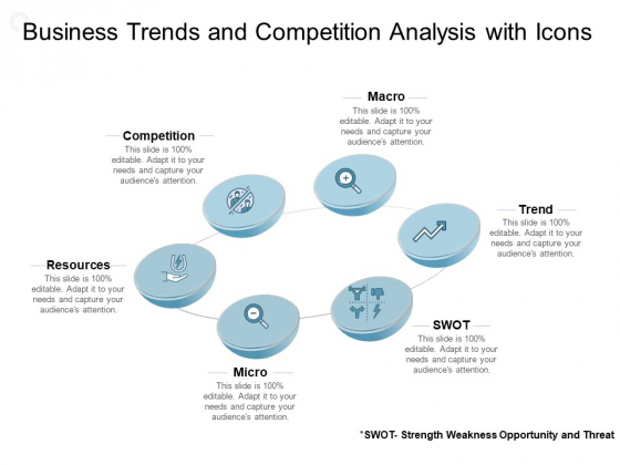 Business Trends And Competition Analysis With Icons Ppt PowerPoint Presentation Inspiration Graphic Tips