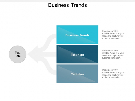 Business Trends Ppt PowerPoint Presentation Icon Model Cpb