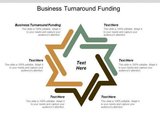 Business Turnaround Funding Ppt PowerPoint Presentation Icon Sample Cpb