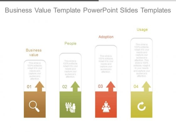 Business Value Template Powerpoint Slides Templates
