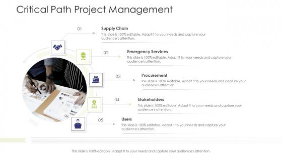 Business Venture Tactical Planning Complete PPT Deck Critical Path Project Management Elements PDF