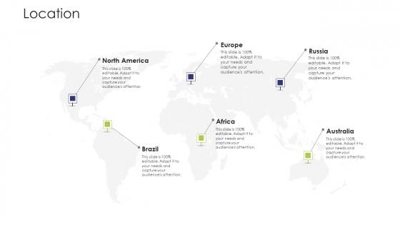 Business Venture Tactical Planning Complete PPT Deck Location Slides PDF