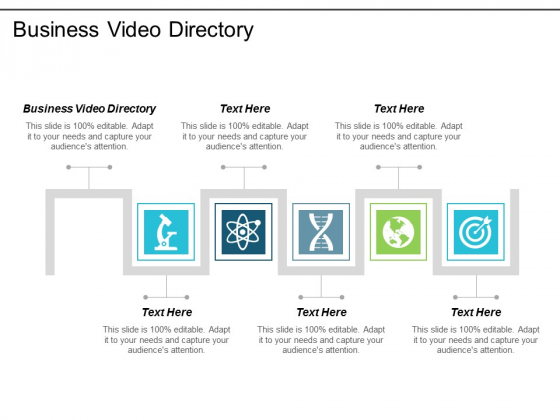 Business Video Directory Ppt Powerpoint Presentation Icon Good Cpb